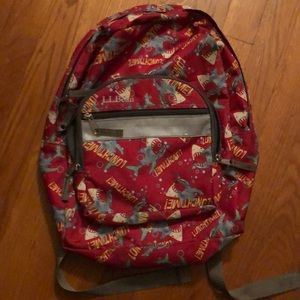 LL Bean preschool size backpack